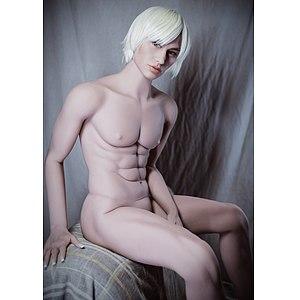 Realistische asiatische Sex-Puppe